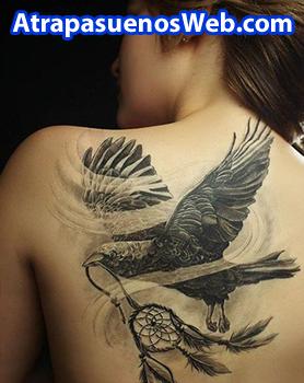 tatuaje atrapasueños naturaleza