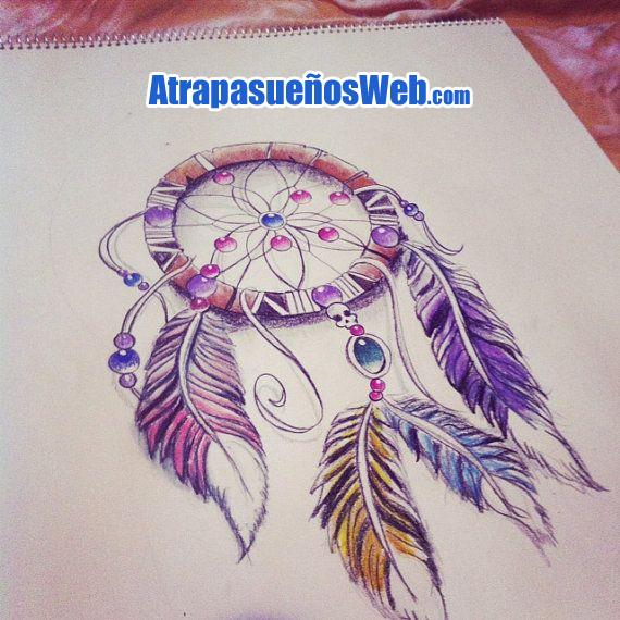 Atrapasueños Dibujo Para Colorear A Lápiz Cómo Dibujarlo