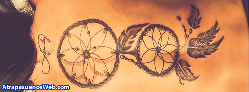 Tatuajes Atrapasueños ¡Los 24 TATTOOS Más INCREÍBLES