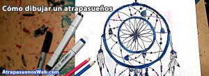 Atrapasueños dibujo para colorear a lápiz ¿Cómo dibujarlo?