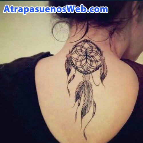 Tatuajes de atrapasueños medianos